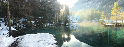 thumbnail view of Natural Beauty - Benjamin Blume - Switzerland - Fall 2017 - Blau See - On one of my free weekends I was able to catch a glimpse of Blau See and the amazing views the water gave