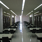 The third floor has lots of study space; this is a 'quiet floor,' so conversation and cell phone use are prohibited.
