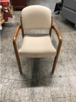 Beige Conference Table Chairs