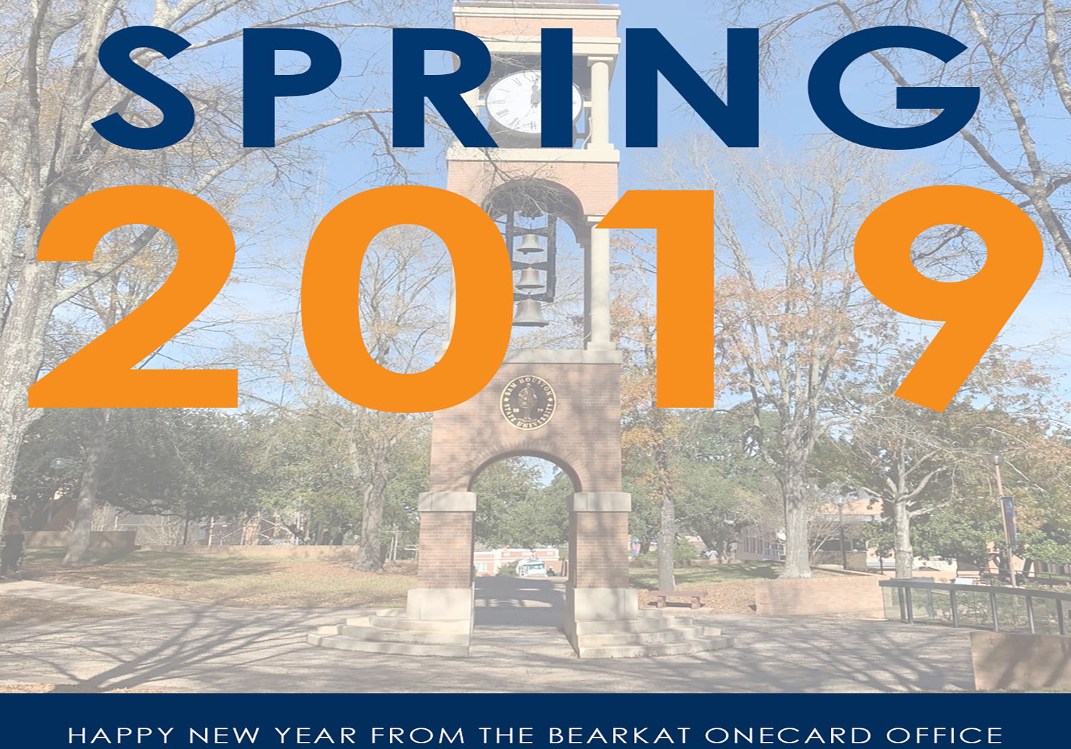 Welcome Bearkats: Spring 2019
