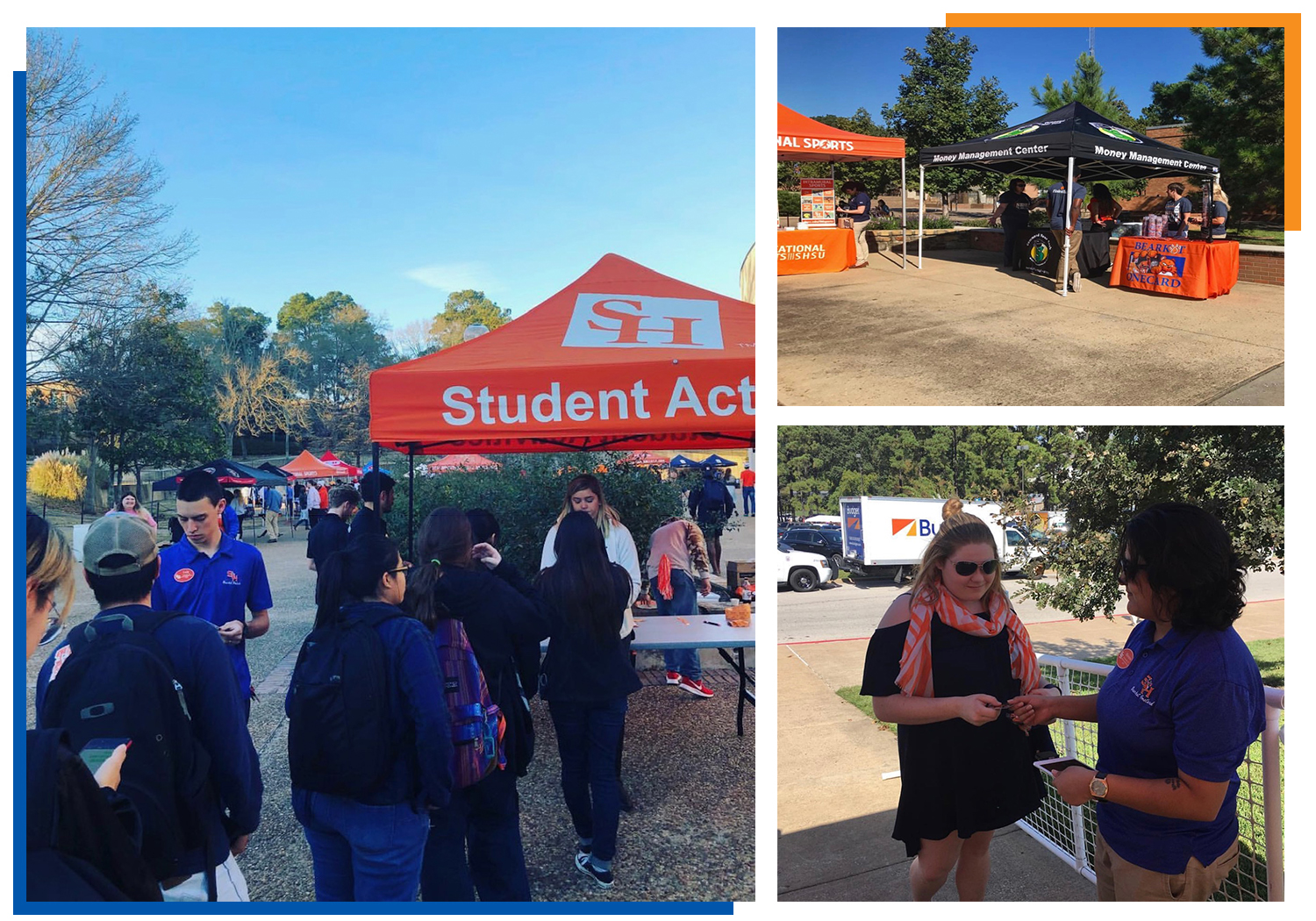 Bearkat OneCard can help staff your event!
