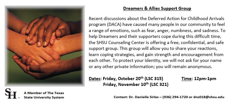 DACA Support Group Flyer