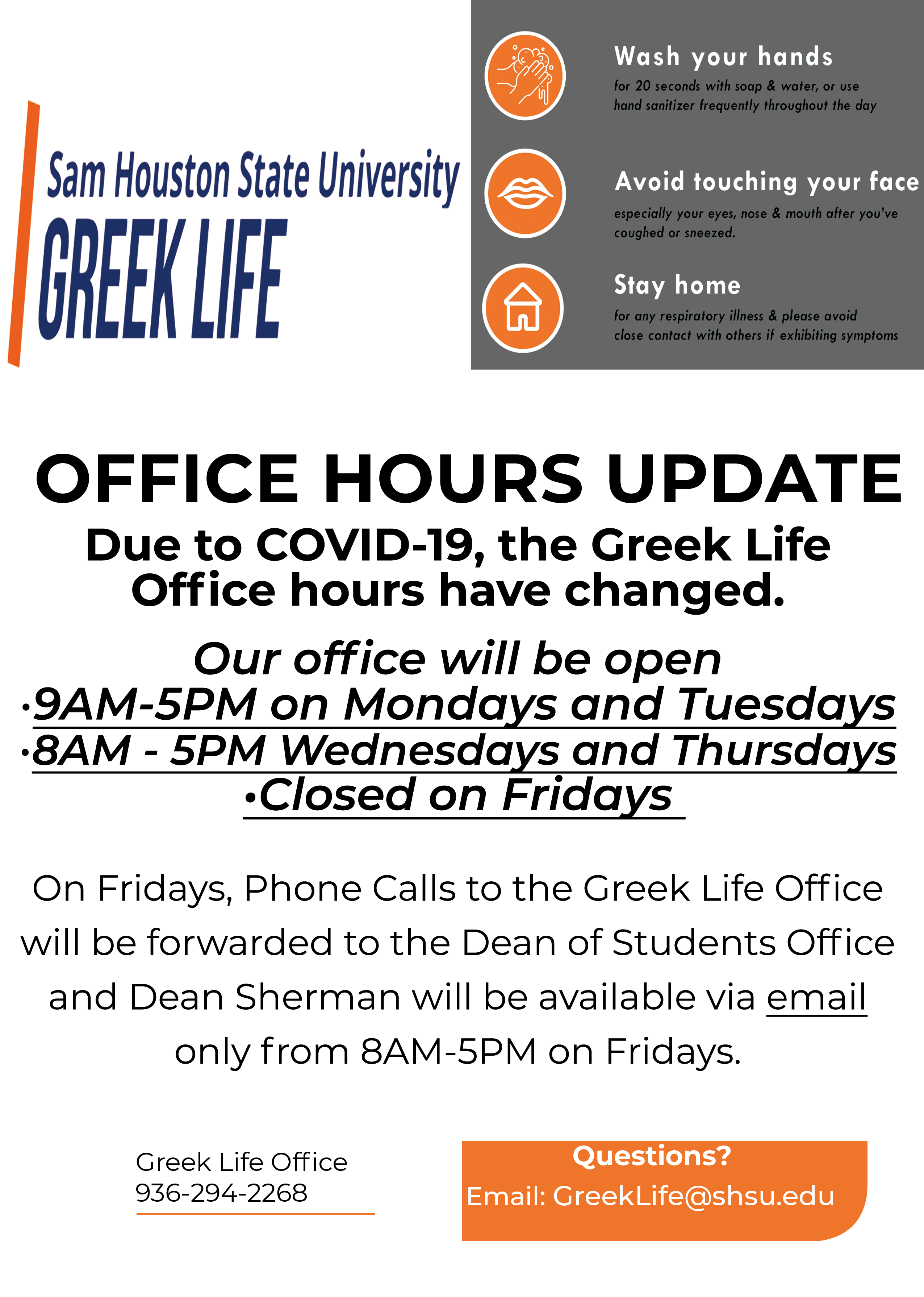 Office Hours Updated Flyer