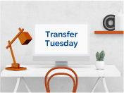 Click to join Transfer Tuesday on Zoom