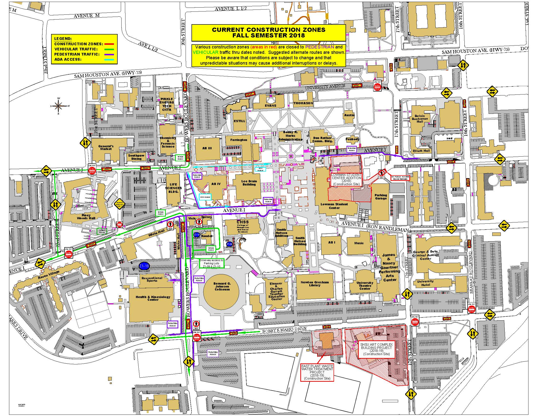 Facilities Management - Sam Houston State University