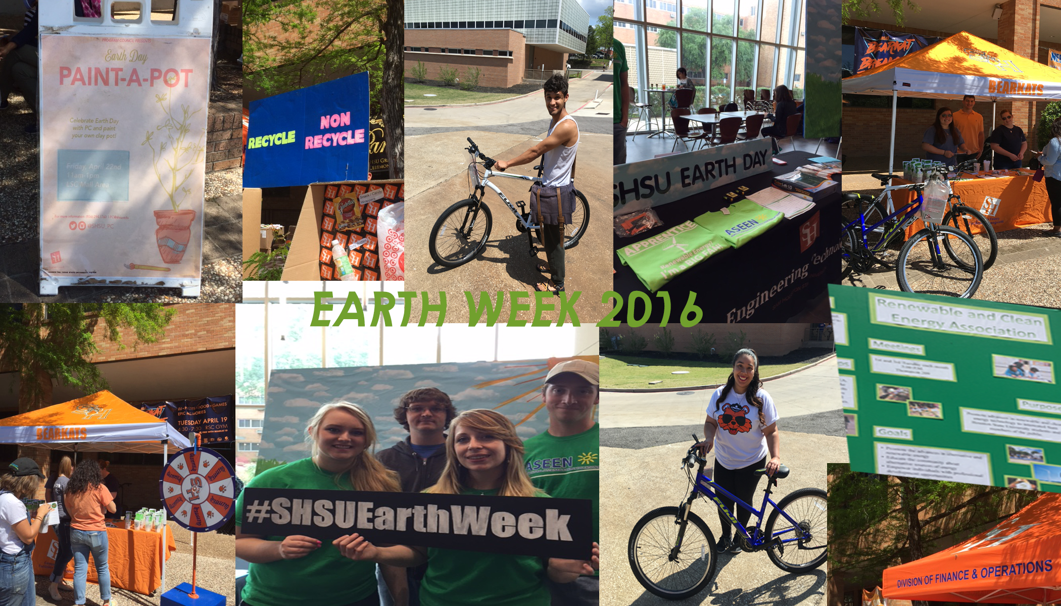Earth Week 2016 Collage