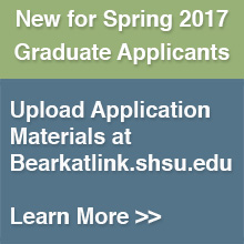 New for Spring 2017 Applicants: Bearkat Link