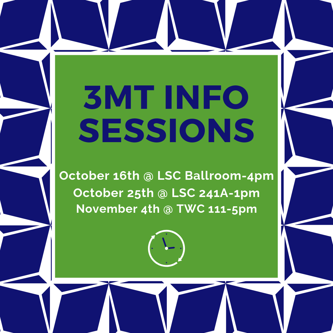 3MT Info Meetings