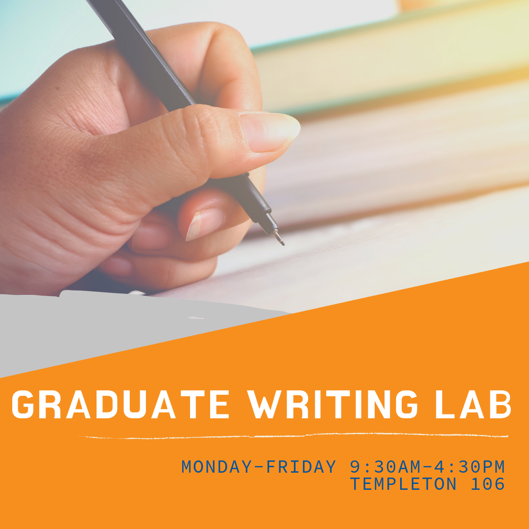 Copy of Graduate Writing Lab Open House