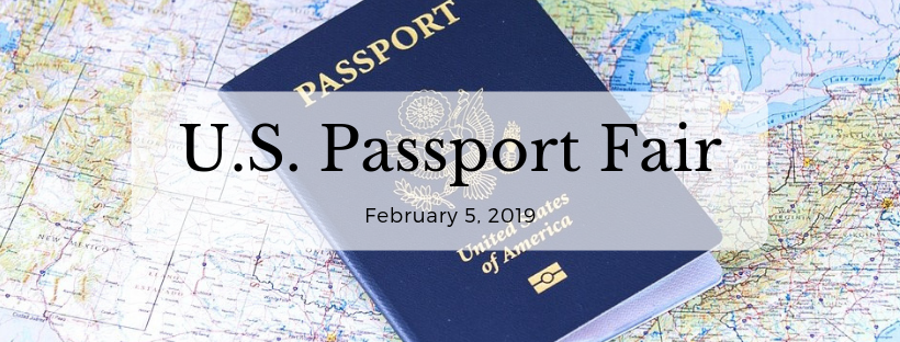 U.S. Passport Fair website banner