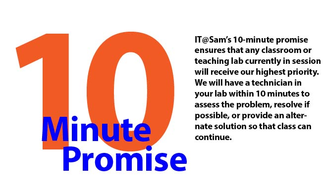 10-minute promise