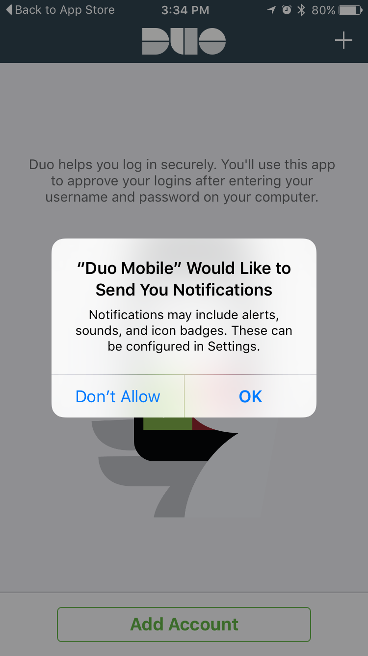 iOS Enable Push Notifications