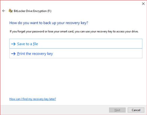 Encrypting External Drives (Windows 10)