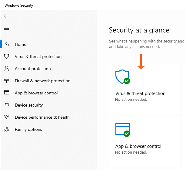 Windows Security at a Glance