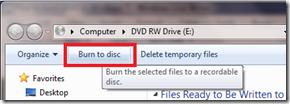 Burn To Disc