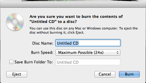 Mac Rename CD