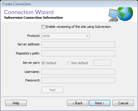 Connection Wizard