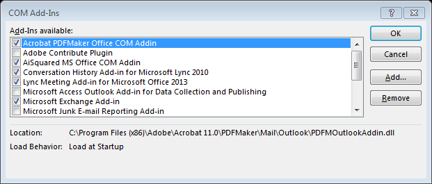 adobe acrobat 8 pdfmaker files missing
