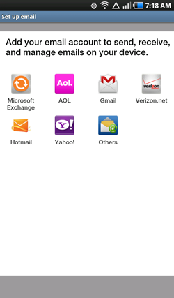Android E-mail 2