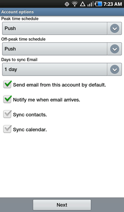 Android E-mail 6