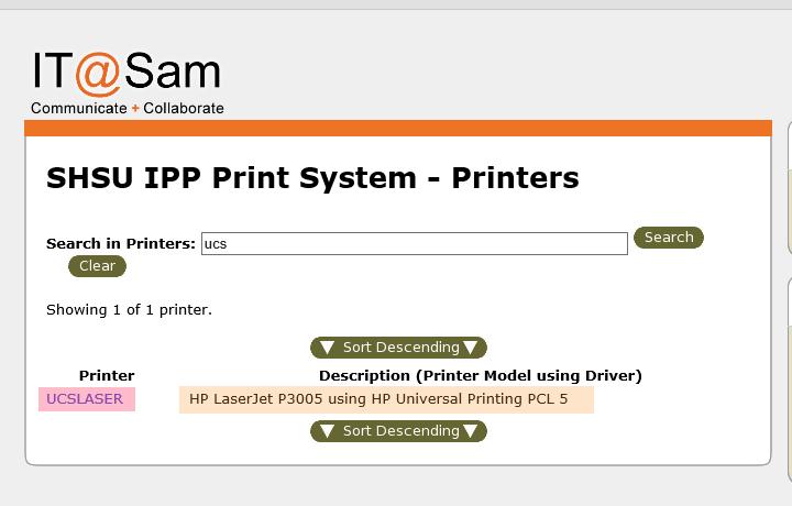 Printer Found