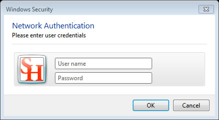 Authenticate on SamNet