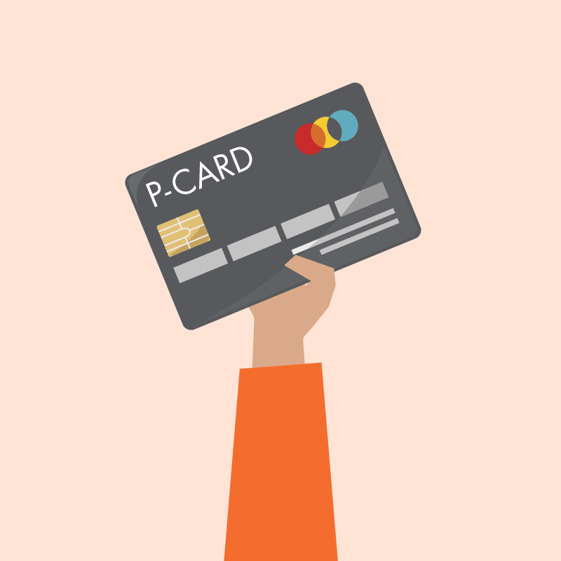 vector graphic of credit card