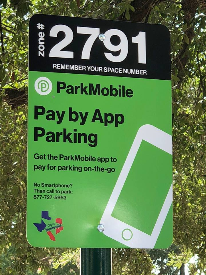 park by app by mobile now is not university parking