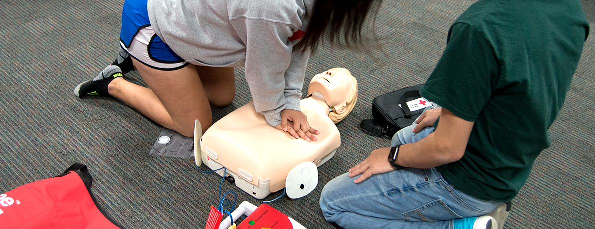 CPR & First Aid Training - Rec Sports - Sam Houston State University