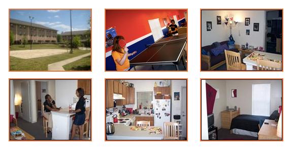 Summer 2016 Residence Facilities