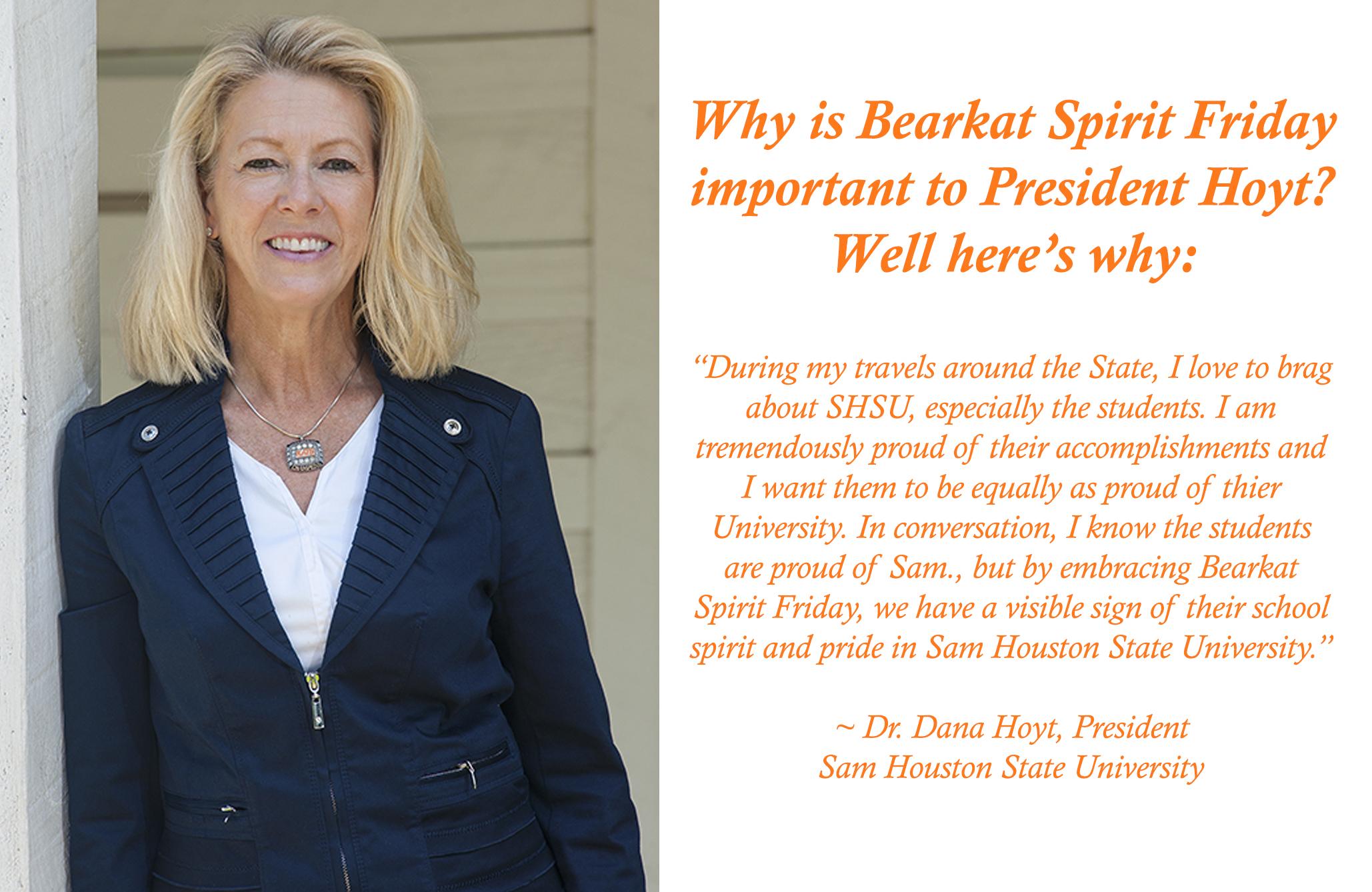 Bearkat Spirit Friday | Special Events | Sam Houston State