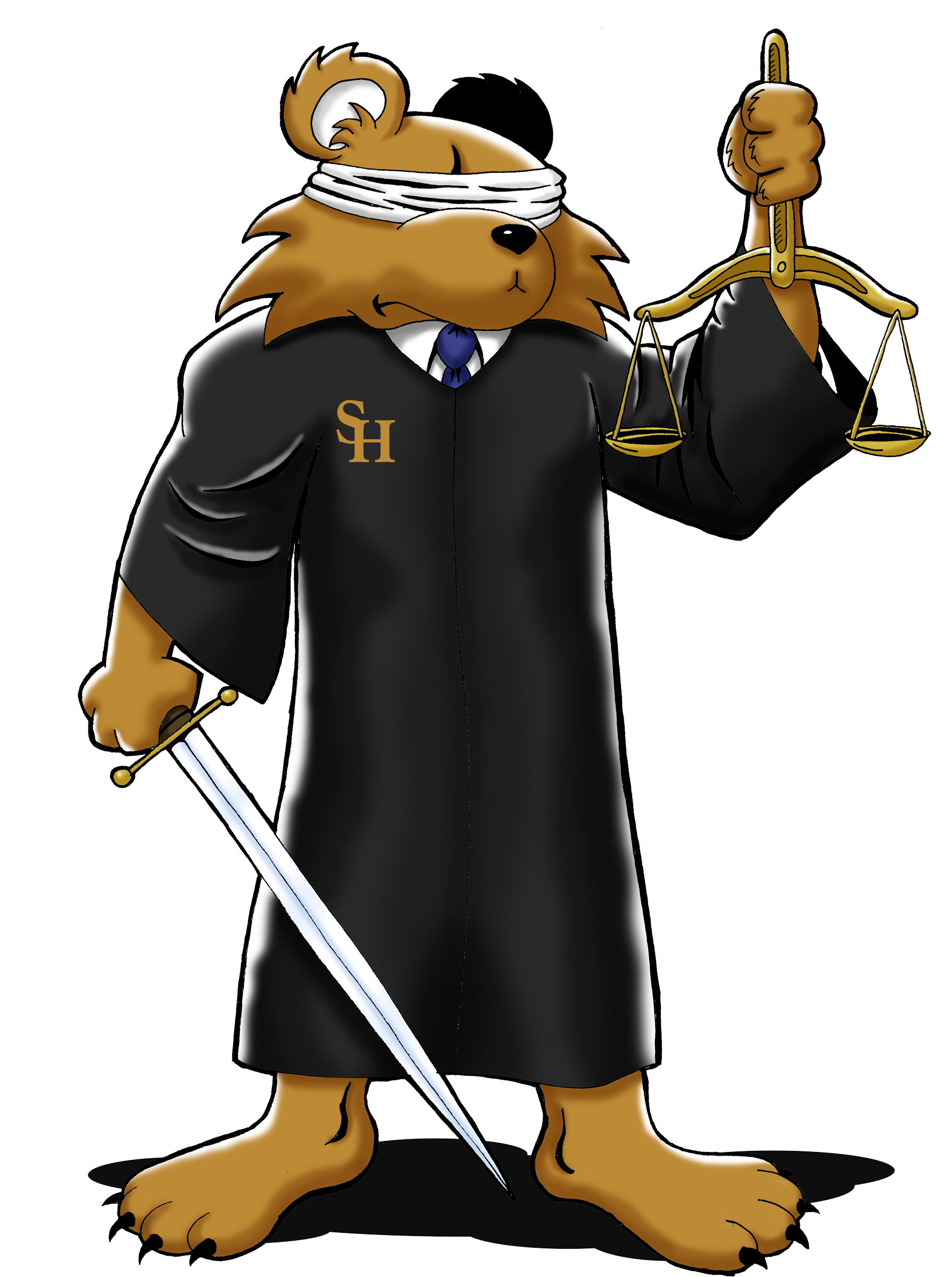 Justice Sammy Color - Large Transparent