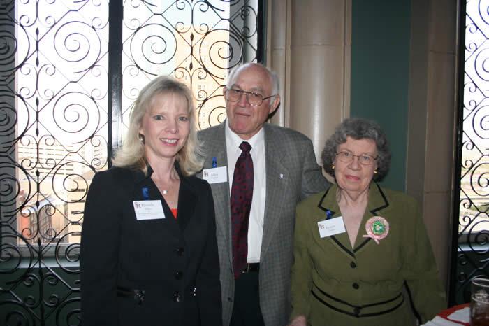 Rhonda Ellisor with Allen & Joanne Triplett