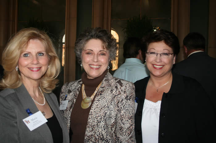 Maria Holmes with Sandra Shelton and Paula Hill