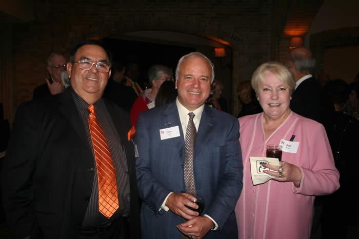 photograph of Beth and Robert Rangel and John Hoyt
