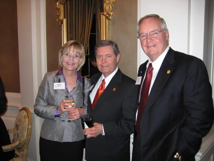 Sylvia & Robert Hutson, R. Dean Lewis