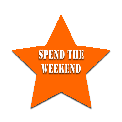 spend the weekend