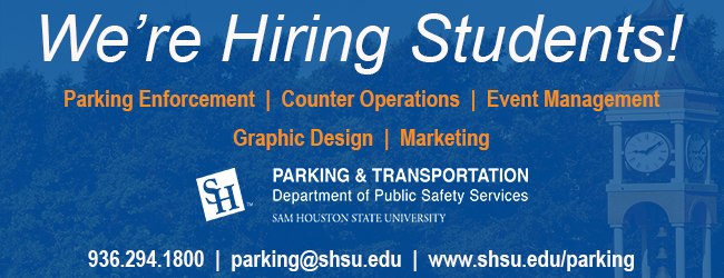 We're Hiring Students