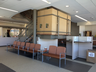 Student Health & Counseling Center Lobby