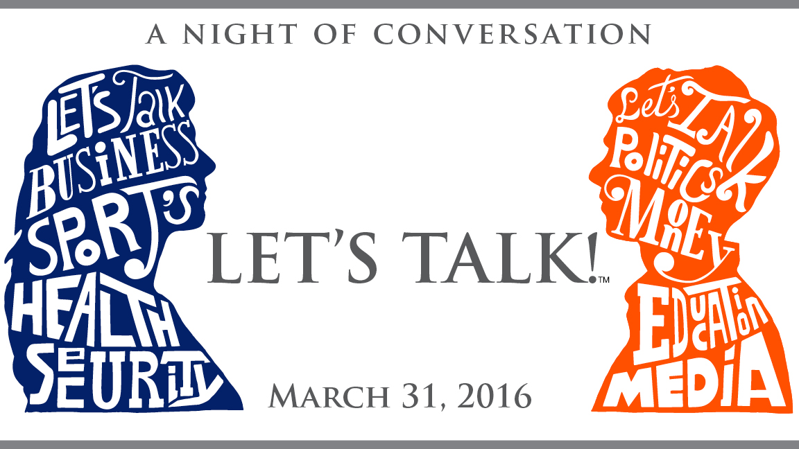 LET'S TALK!™ A Night of Conversation
