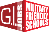 G.I. Jobs Military Friendly Schools logo