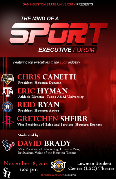 2015 The Mind of a Sport Executive Forum