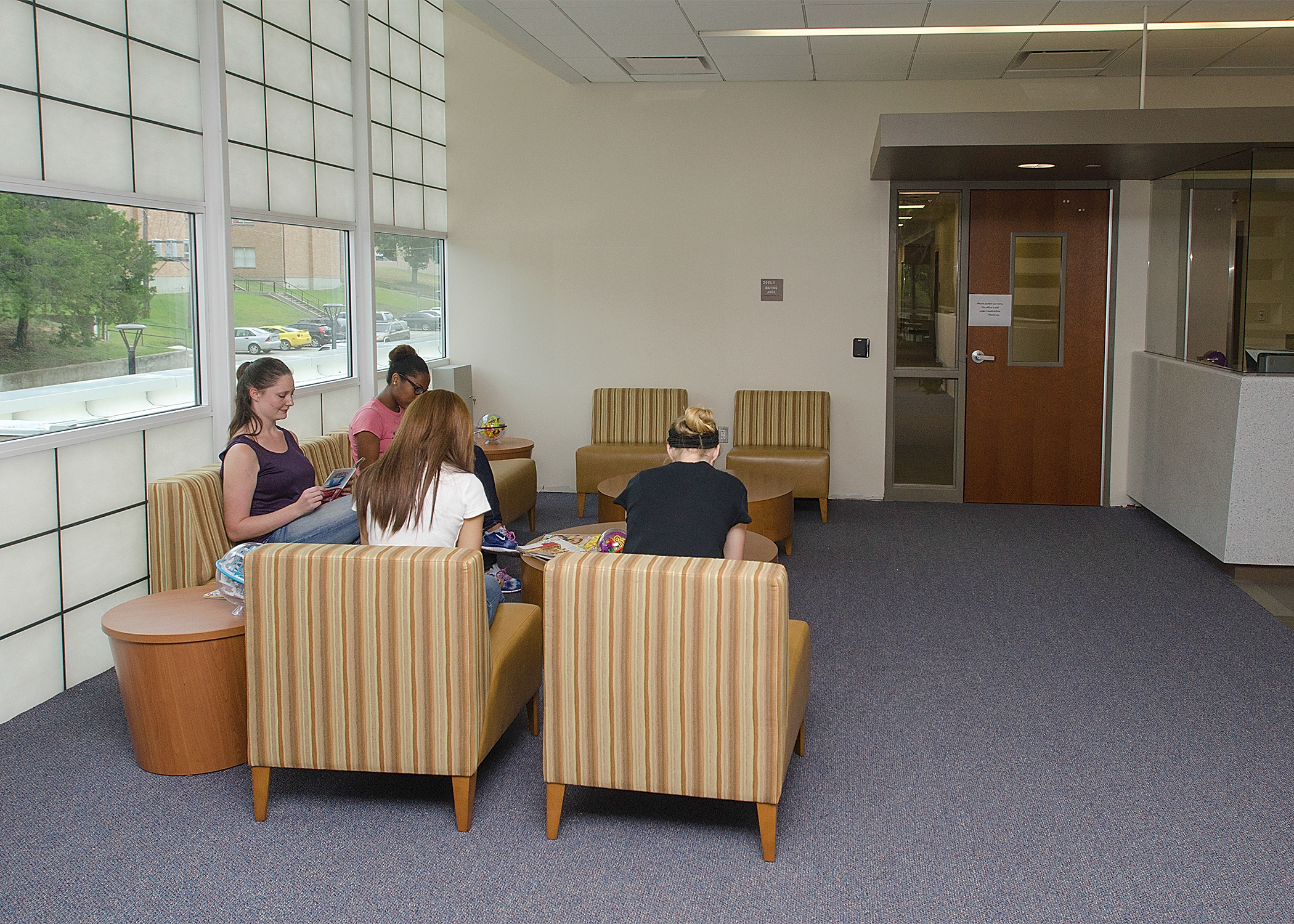 Student Health & Counseling Center Waiting Room