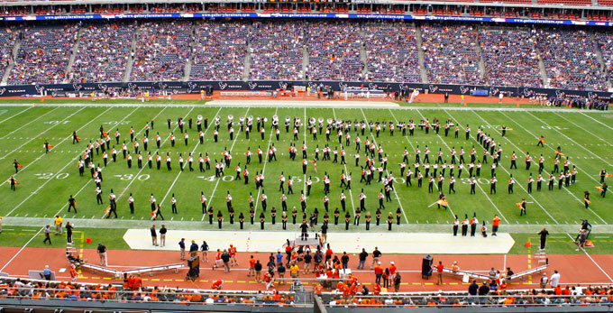 Bearkat Marching Band