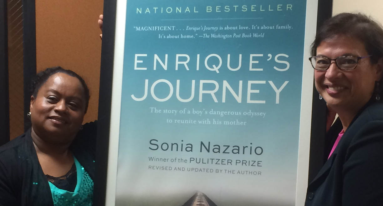 sonia nazarios enriques journey Enrique's journey will also provide the catalyst for meaningful discussions of universal themes such as parent-child conflict, family responsibility, separation realizing that the immigrant's journey was the adventure story of the twenty-first century, sonia nazario set out to tell a story that is very common.