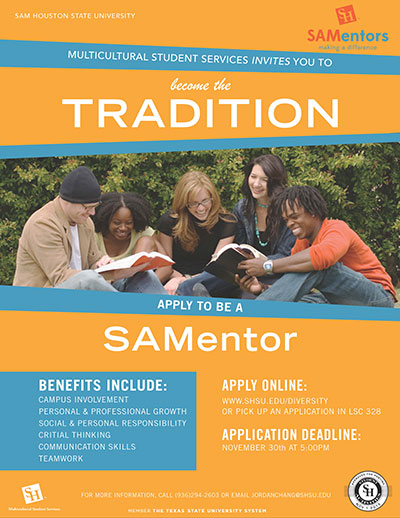 SAMentor Flyer