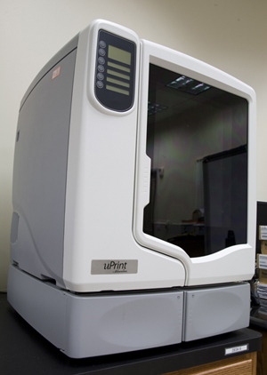 3-D Printer at Sower Business Technology Lab at SHSU