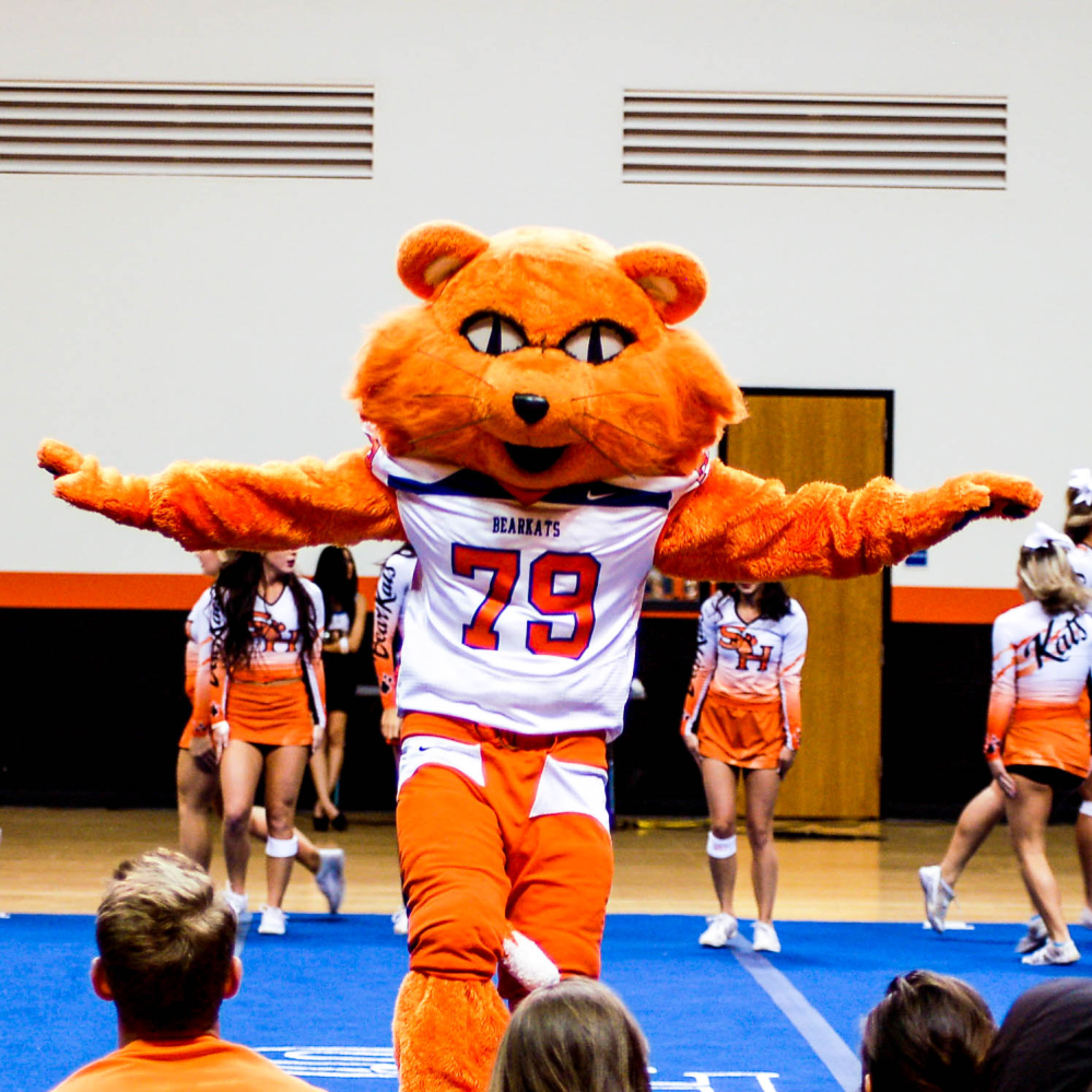 Mascot squad spirit programs sam houston state university