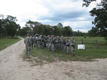 Unloading Equipment for Land Nav