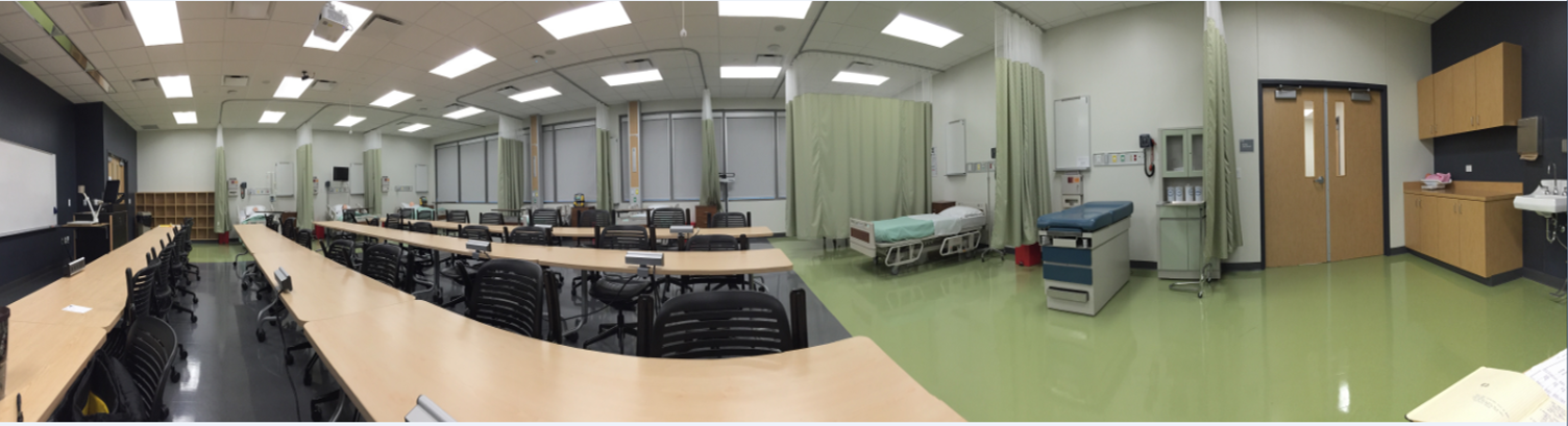 Woodlands Level 4 Nursing Skills Lab and Classroom